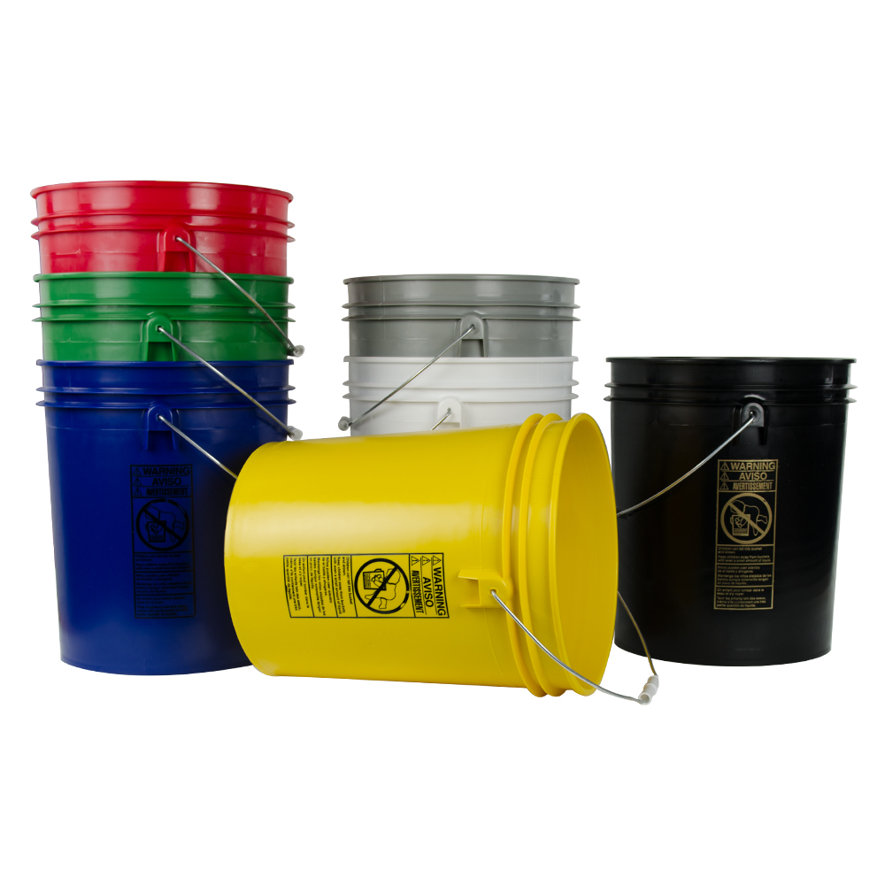 Standard 5 Gallon Buckets & Lids