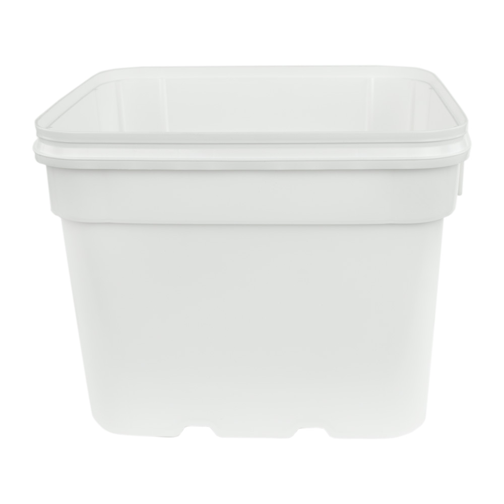8 Gallon White EZ Stor Pail