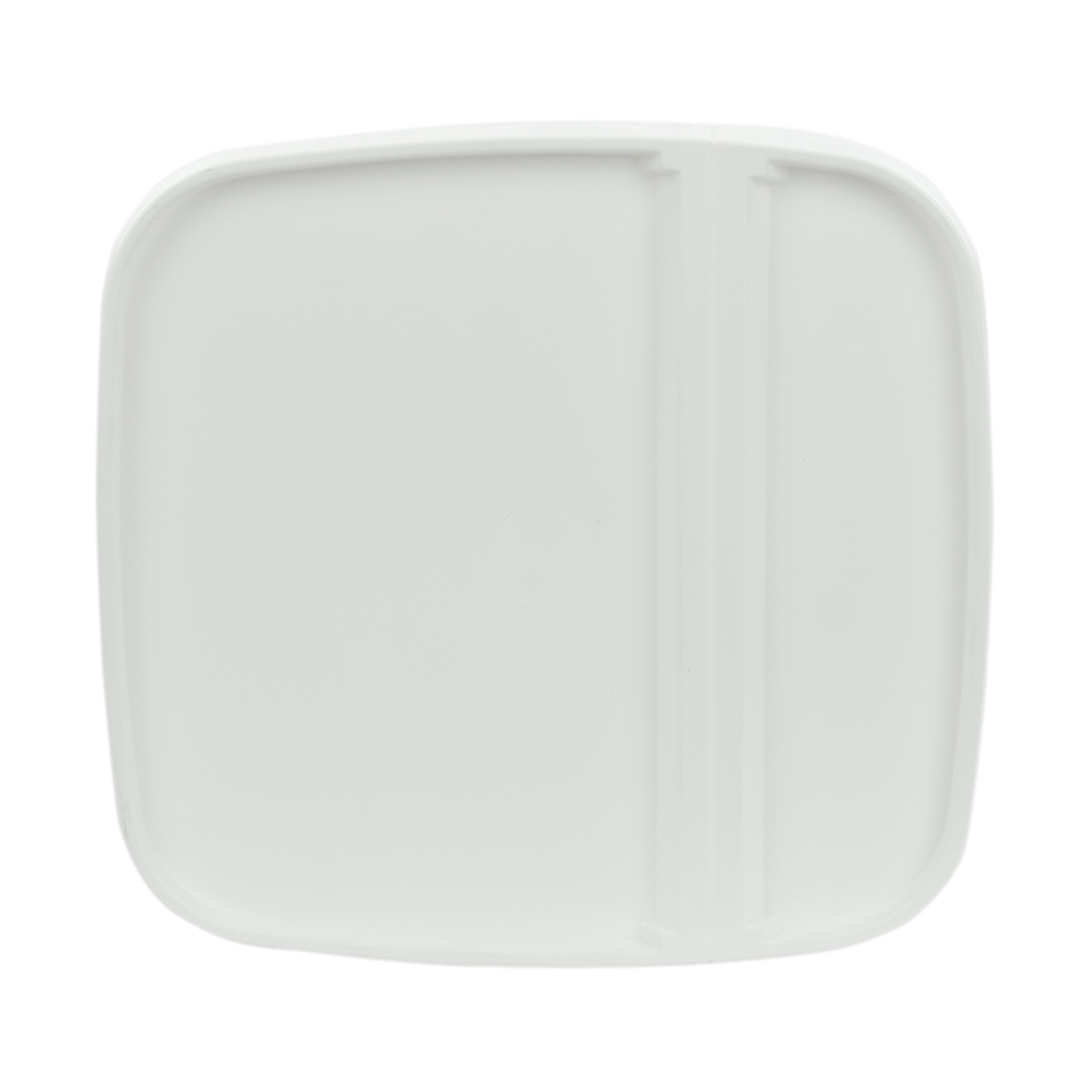 White Hinged Lid for 6 Gallon EZ Stor Pail
