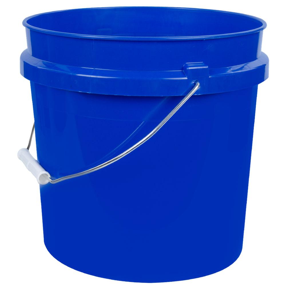 Blue 2 Gallon HDPE Bucket