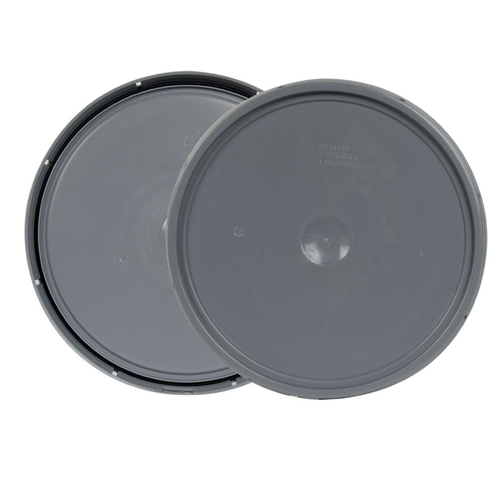 Gray 2 Gallon Lid with Tear Tab