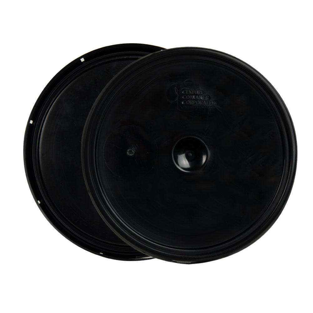 Black 2 Gallon Lid with Tear Tab