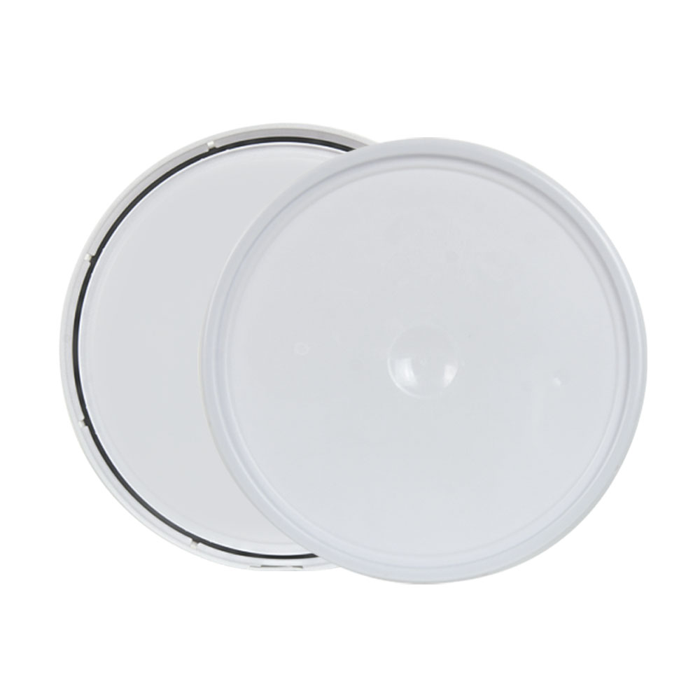 White 2 Gallon Lid with Tear Tab
