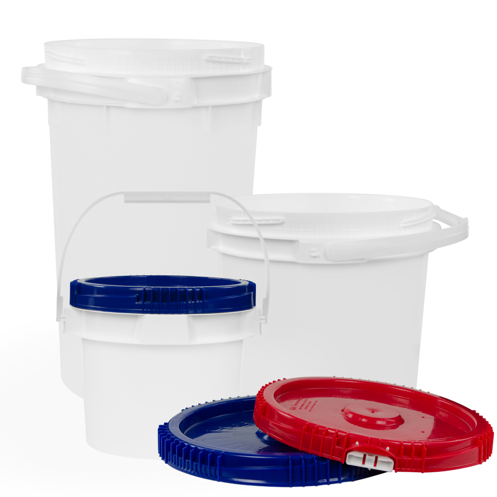 Lite Latch® Buckets & Lids
