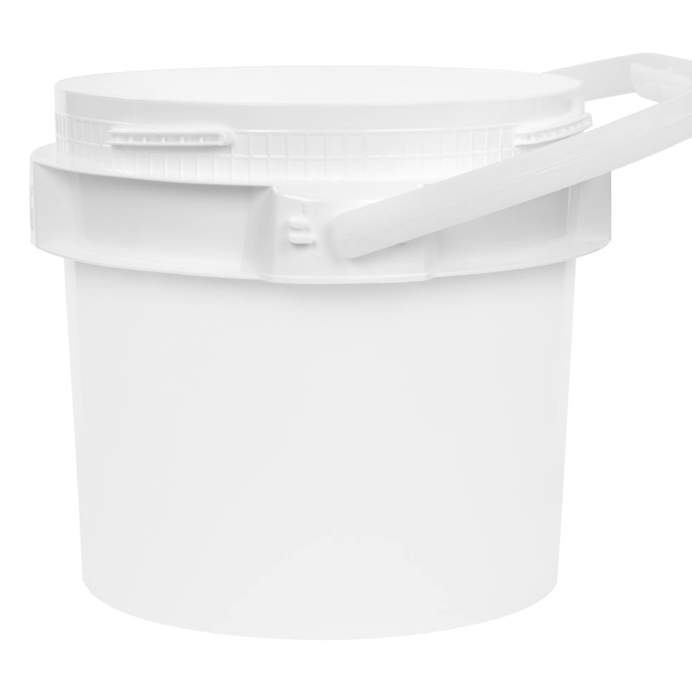 1 Gallon Lite Latch® White Bucket
