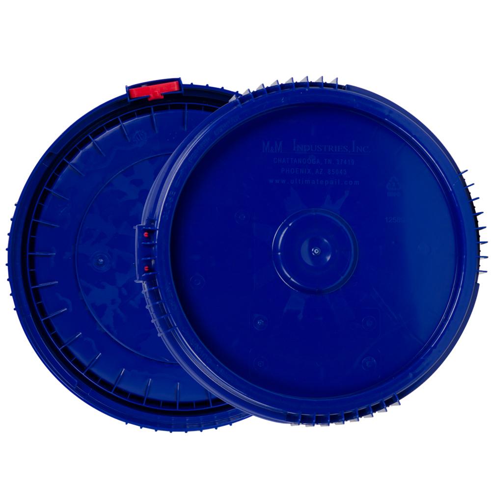 1 Gallon Lite Latch® Blue Cover
