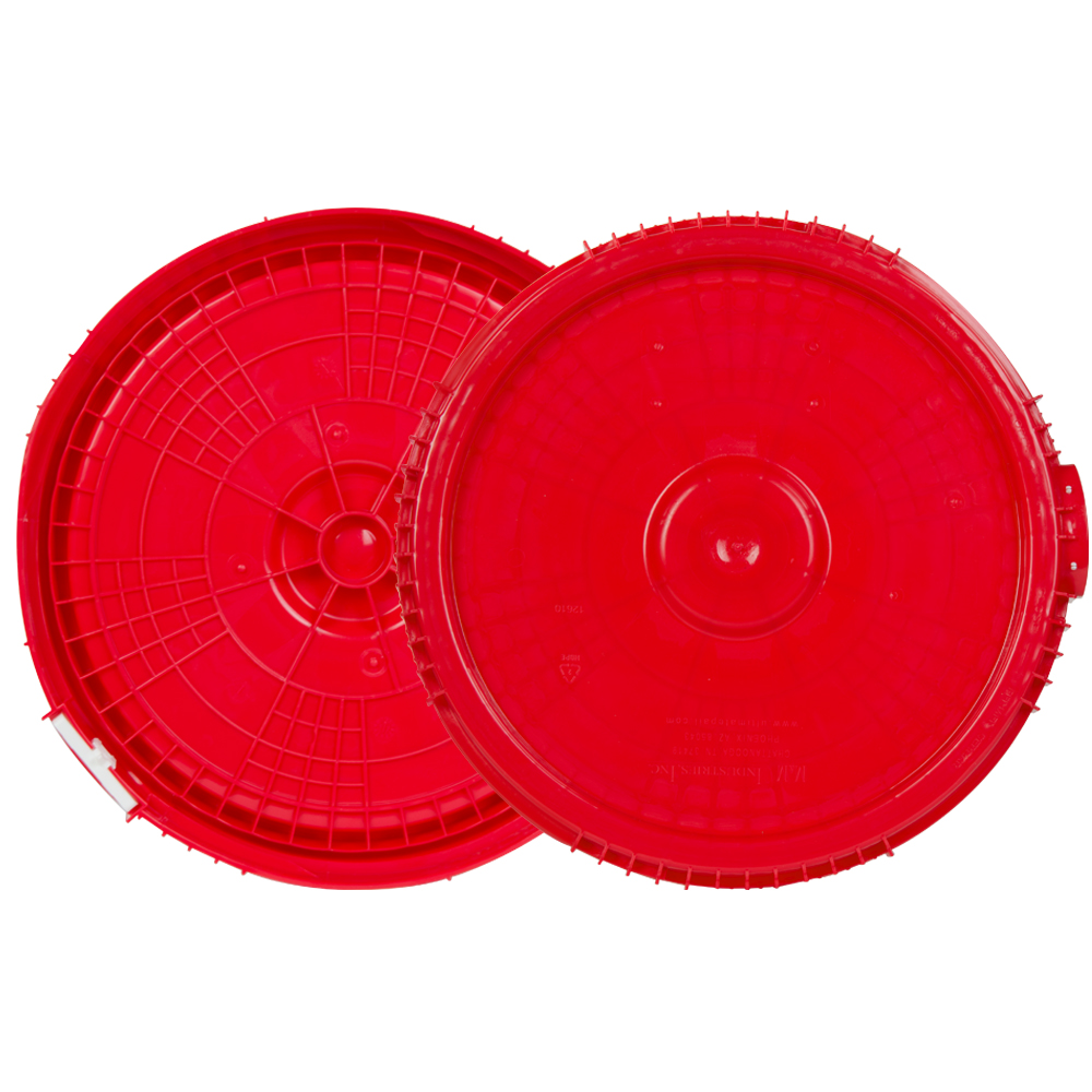 2 & 2.5 Gallon Lite Latch® Red Cover
