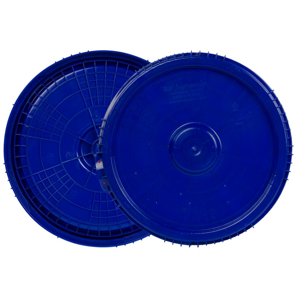 2 & 2.5 Gallon Lite Latch® Blue Cover