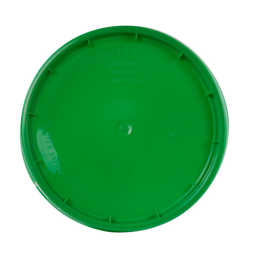 Green Tear Strip Lid w/ Gasket