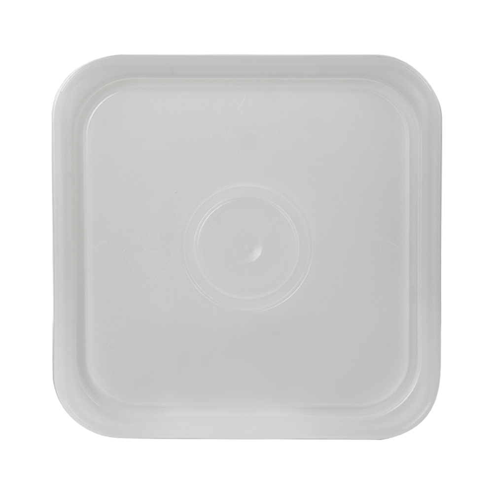 3-1/2, 4 & 4-1/4 Gallon Natural HDPE Square Lid