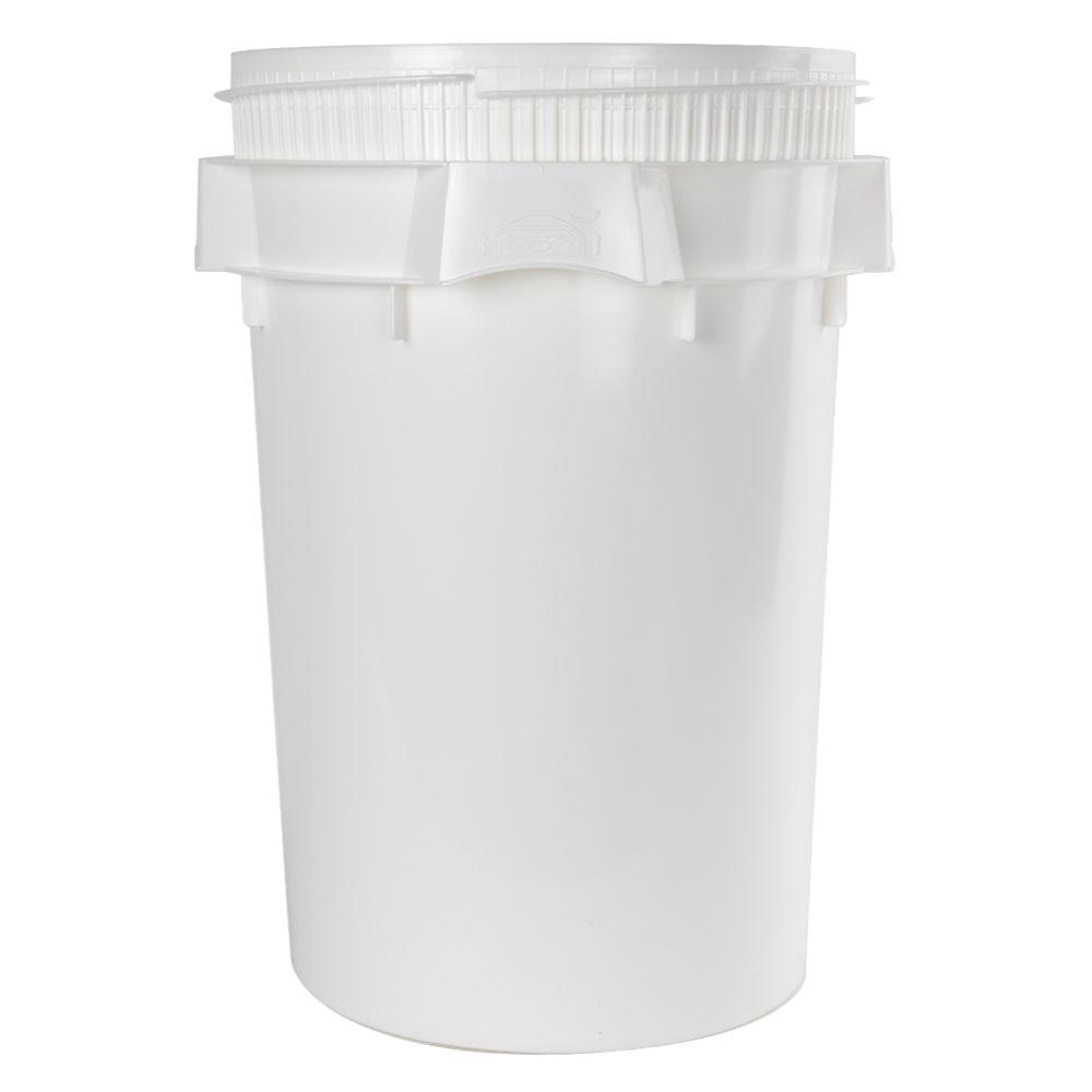 Life Latch® White 10.7 Gallon Plastic Drum