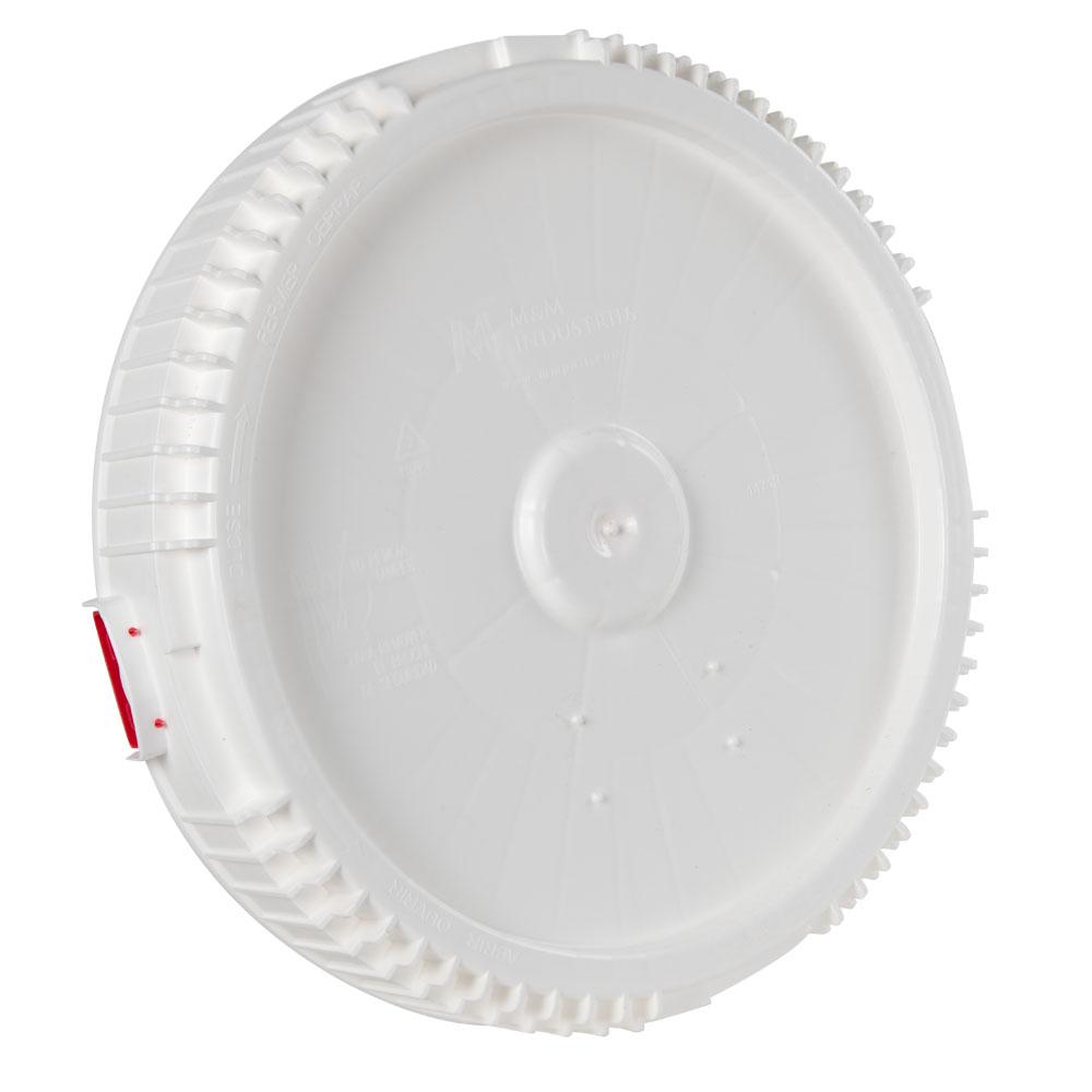 7.7 Gallon & 10.7 Gallon Lite Latch® White Cover