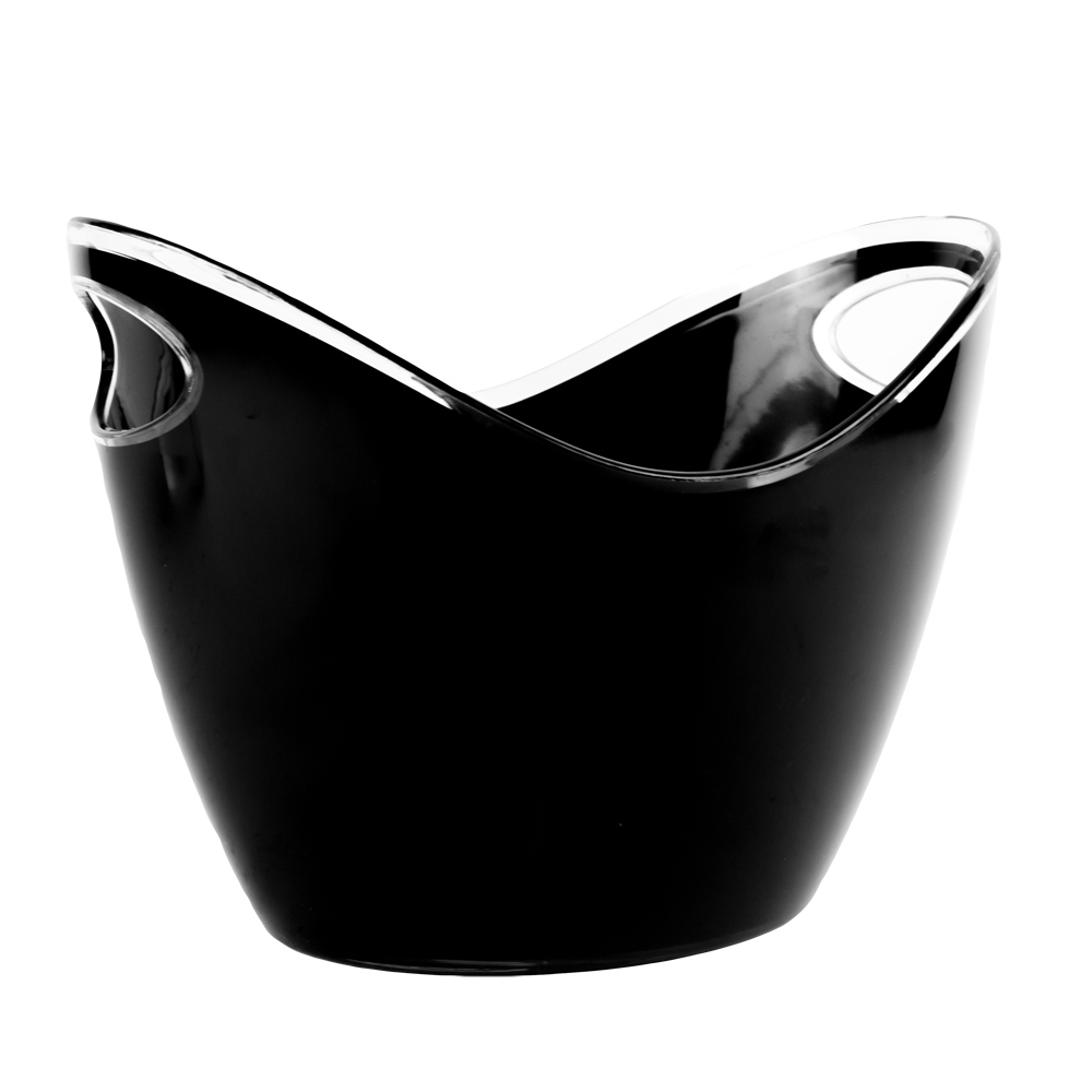 4 Liter Black Premium Ice Bucket