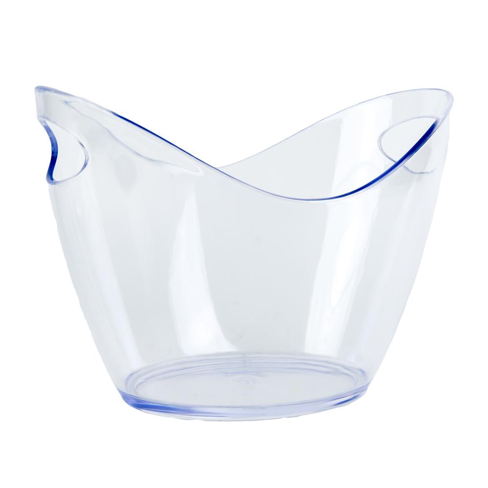 4L Clear Premium Ice Bucket
