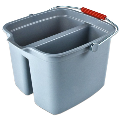 Rubbermaid® Brute® Divided Bucket