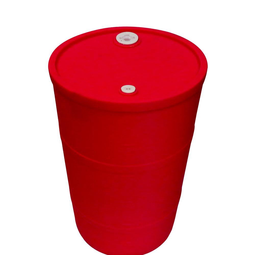 """30 Gallon Red Closed Head Drum 18.375"""" Dia. x 30.25"""" Hgt."""