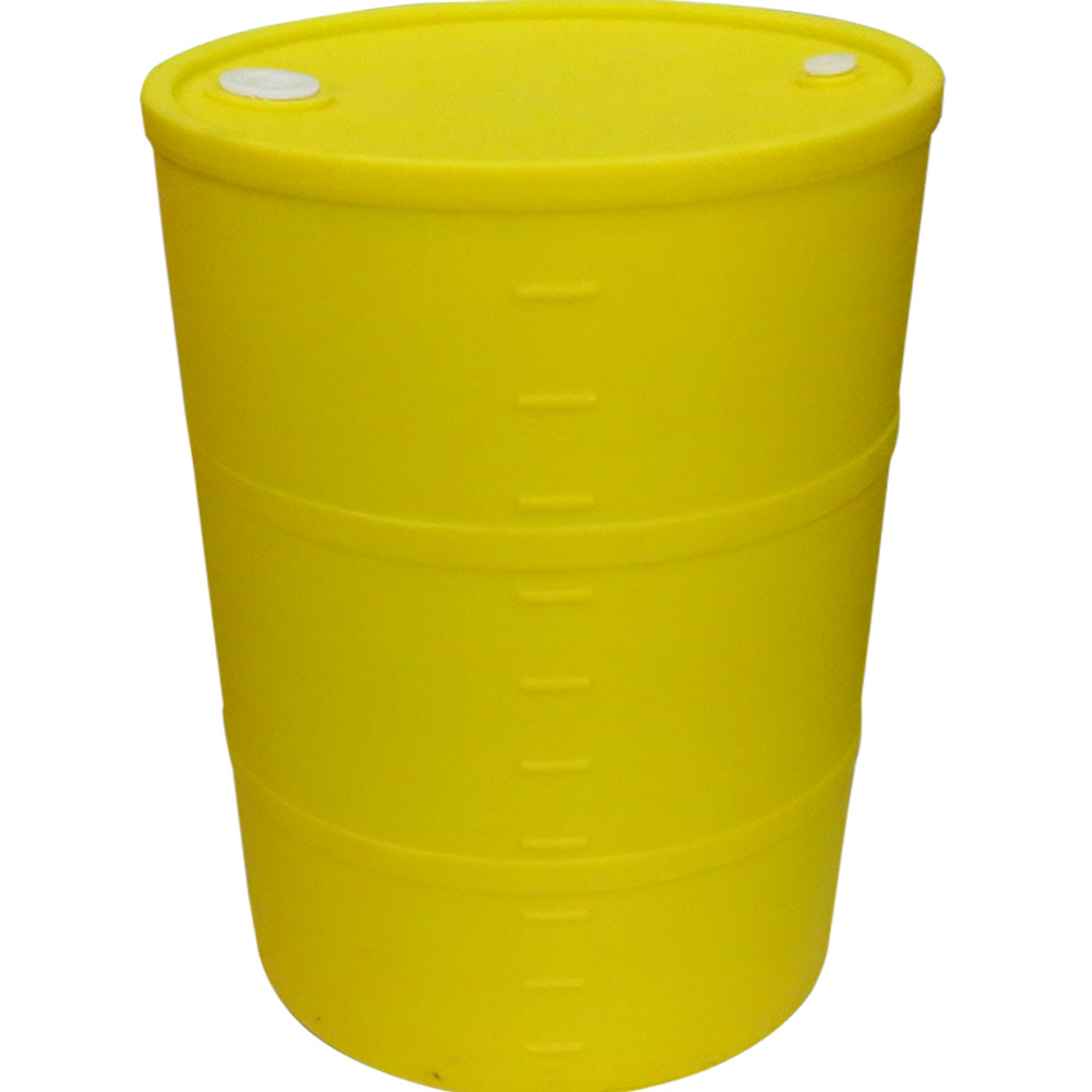 55 gallon yellow closed head drum dia x 35 h u s plastic corp. Black Bedroom Furniture Sets. Home Design Ideas