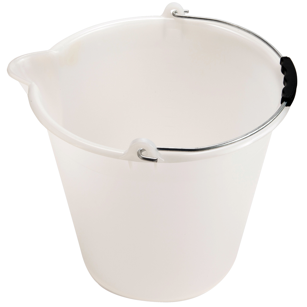 Kartell 9, 12 & 17 Liter Graduated Buckets with Spout