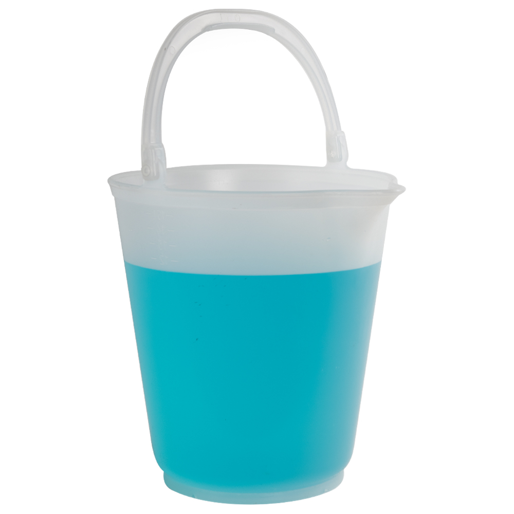 15L Polypropylene Graduated Autoclavable Sprout Bucket