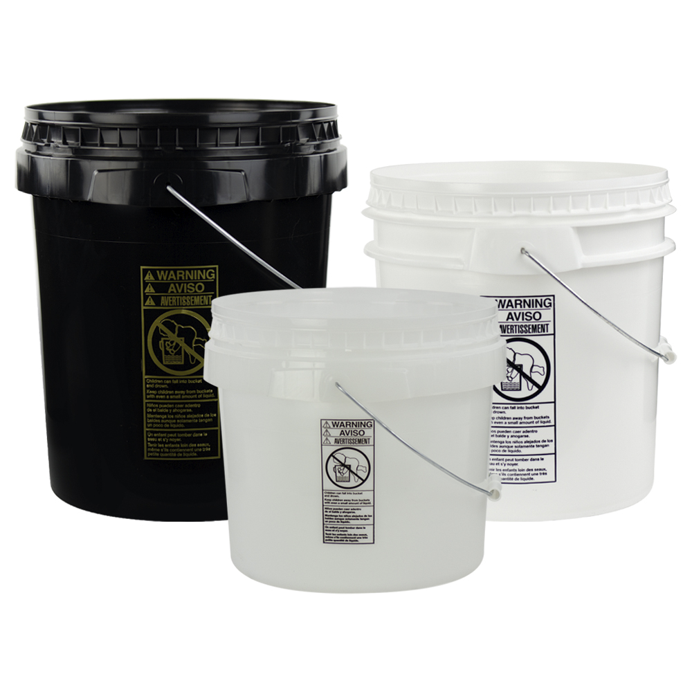 SmartPak® Round Buckets & Lids