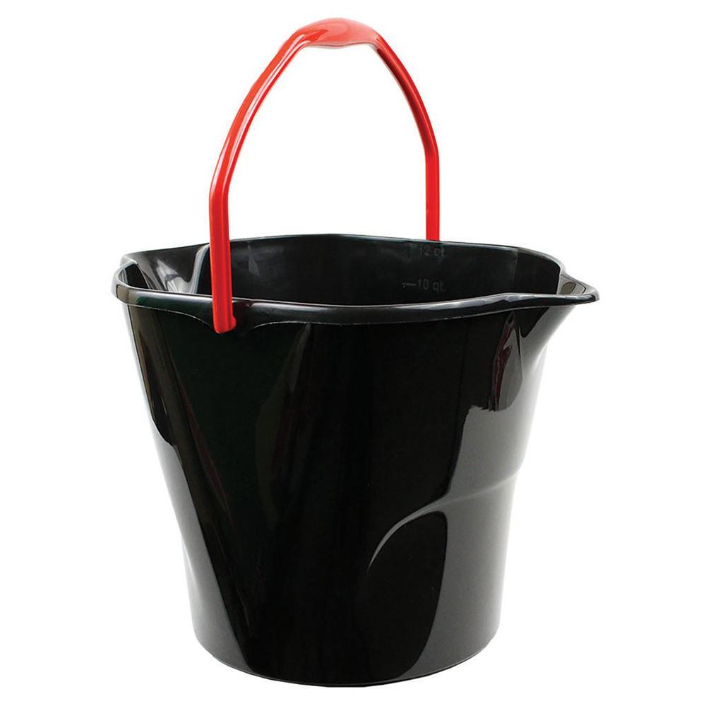 Black 3 Gallon Utility Bucket