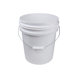 Revolutionary HDPE White 5 Gallon Pail