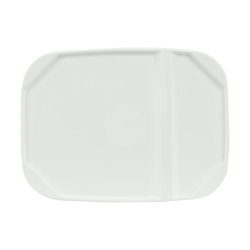 White Hinged Lid for 1 Gallon EZ Stor Pail