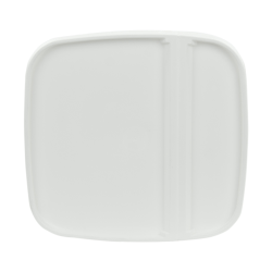 White Hinged Lid for 6.5 Gallon EZ Stor Pail