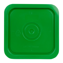 Economy Green 4 Gallon Square Lid for Bucket # 2509