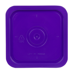 Economy Purple 4 Gallon Square Lid for Bucket # 2513