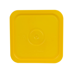 Economy Yellow 4 Gallon Square Lid for Bucket # 4101