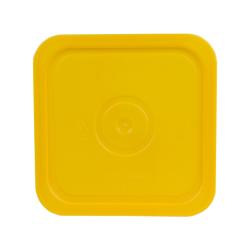 Economy Yellow 4 Gallon Square Lid for Bucket # 4101