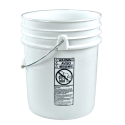 5 Gallon Buckets & Lids