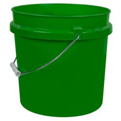 Green 2 Gallon HDPE Bucket