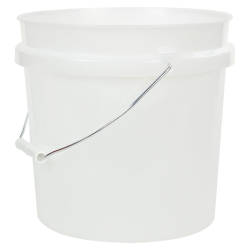 Natural 2 Gallon HDPE Bucket