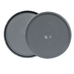 Gray 2 Gallon Lid with Tear Tab