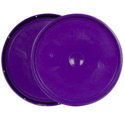 Purple 2 Gallon Lid with Tear Tab