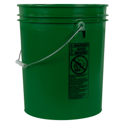Letica® Standard Green 5 Gallon Bucket