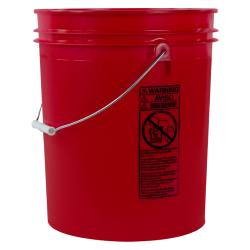 Standard Red 5 Gallon Bucket