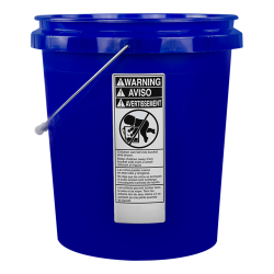 Economy Blue 5 Gallon Bucket