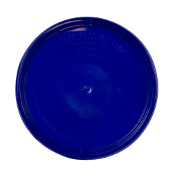 Blue Tear Strip Lid w/ Gasket