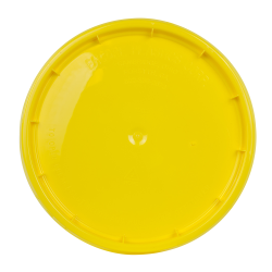 Yellow Tear Strip Lid w/ Gasket