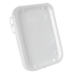 Super Kube White Lid for 1 Gallon Pails