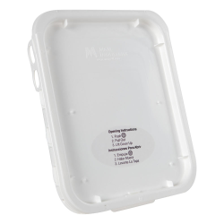 Super Kube White Lid for 2 Gallon Pails