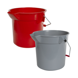 Rubbermaid® Round Brute® Buckets