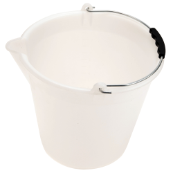 Kartell 12 Liter Bucket with Graduations & Spout