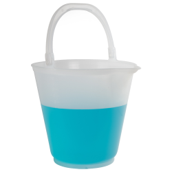 12L Polypropylene Graduated Autoclavable Sprout Bucket