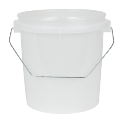 VaporLock Translucent 1 Gallon Bucket (Lid Sold Separately)