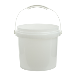 Natural 2 Gallon SmartPak® Medium Duty HDPE Bucket