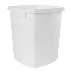 1.5 Gallon/5.6 Liter Polypropylene TrustPack+ Square Pail with Handle (Lid Sold Separately)